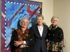 Fellow artists Carole Sabiston, Roberta Bondar, and Exhibit Curator Patricia Bovey