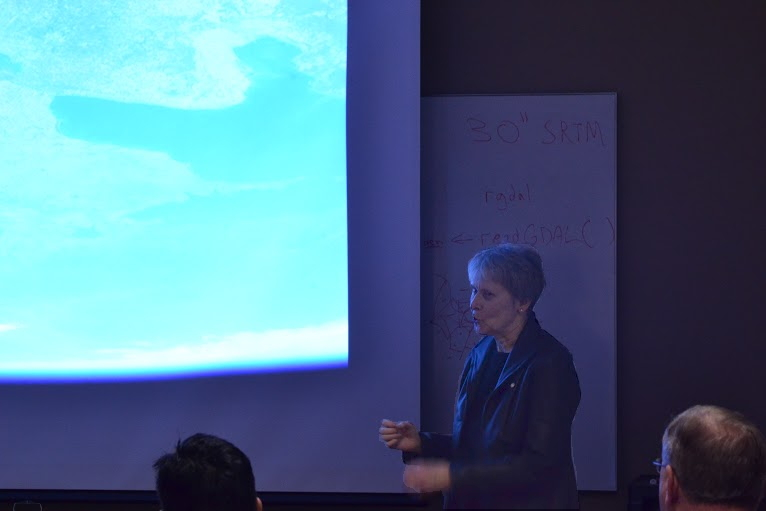 Dr. Roberta Bondar at MSU Remote Sensing Session