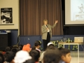 Dr Roberta Bondar talks about her interests in photography while in elementary school