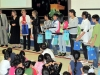 School-Based Bondar Challenge [SBBC] winners at their school assembly
