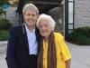Dr Bondar with Hazel McCallion