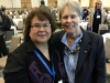 Carleen Thomas and Dr Roberta Bondar