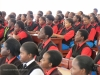 Students assembled at Nairobi's Starehe Girls Centre.