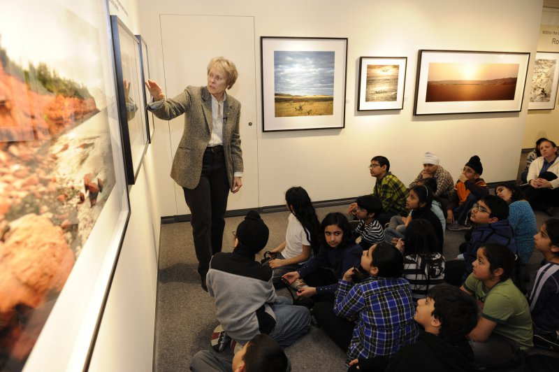 Dr Roberta Bondar answers questions about the coastal biome