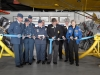 Dr Roberta Bondar Air Cadet Training Program ribbon cut