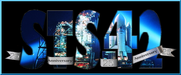 25th ANNIVERSARY STS-42 COMMEMORATIONS