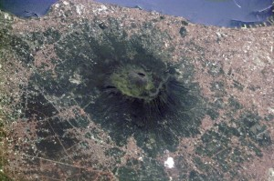 Mt Vesuvius predominates over hundreds of millions more people today than lived within its range 2000 years ago.