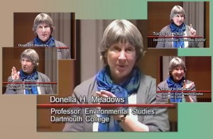 "Clips of environmental economist Donella ""Dana"" Meadows taken from video of her presentation at the University of Michigan Ross School of Business"