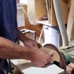 shaping a knife
